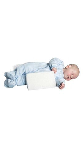 The Baby First Support Wedge has been specially designed to ensure baby stays in the recommended sleeping position.