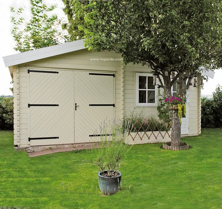 Wooden Garage G9 With An Apex Roof. Top Quality U0026 Design At A Fair Price