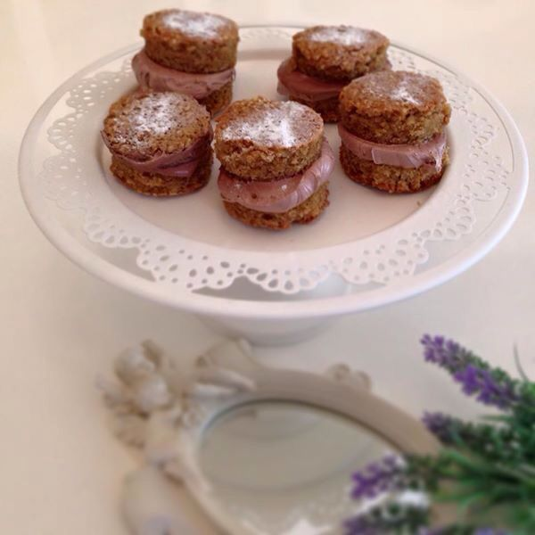 Ankara'da kar var Lavantalı Mutfakta'da ❄️❄️Kahveli kek makaronlar...