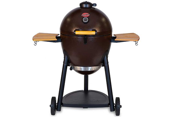 Akorn Kamado Kooker Charcoal Barbecue Grill and Smoker, Brown