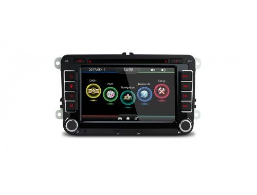 """PDAB71MTV - 7""""HD Digital Touch screen Dual CANBUS GPS Navigator Car DVD Player with Screen Mirroring Function Built-in DAB + Tuner custom Fit for Volkswagen/SKODA/SEAT xtrons.co.uk/"""