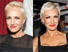 short hairstyles wedding Older Women #hairstylesfo…