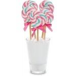 Bubble Gum Mini Swirl Lollipop 1 oz. BULK (24 Count = $1.65/Lollipop)