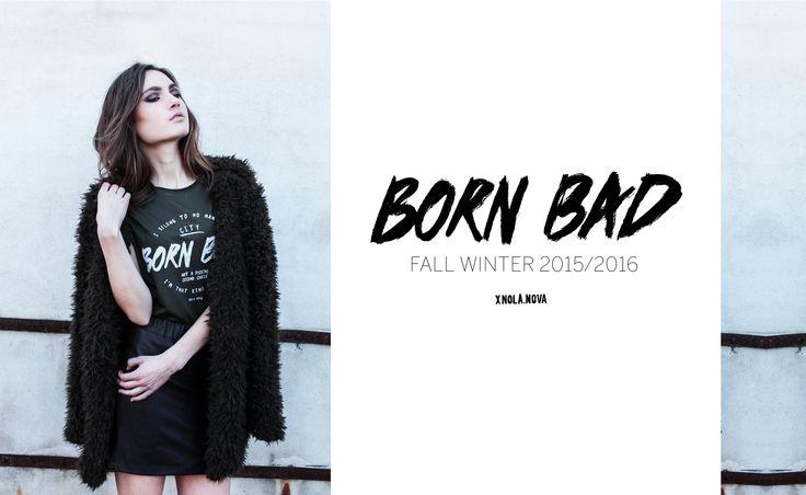 #nolanova #amsterdam #new #collection #green #bornbad #fallwinter #FW15 #girls #attitude #rebel #shoot #grunge #fashion #dutchbrand #endless #honey #coolkid #rock #neverbackdown