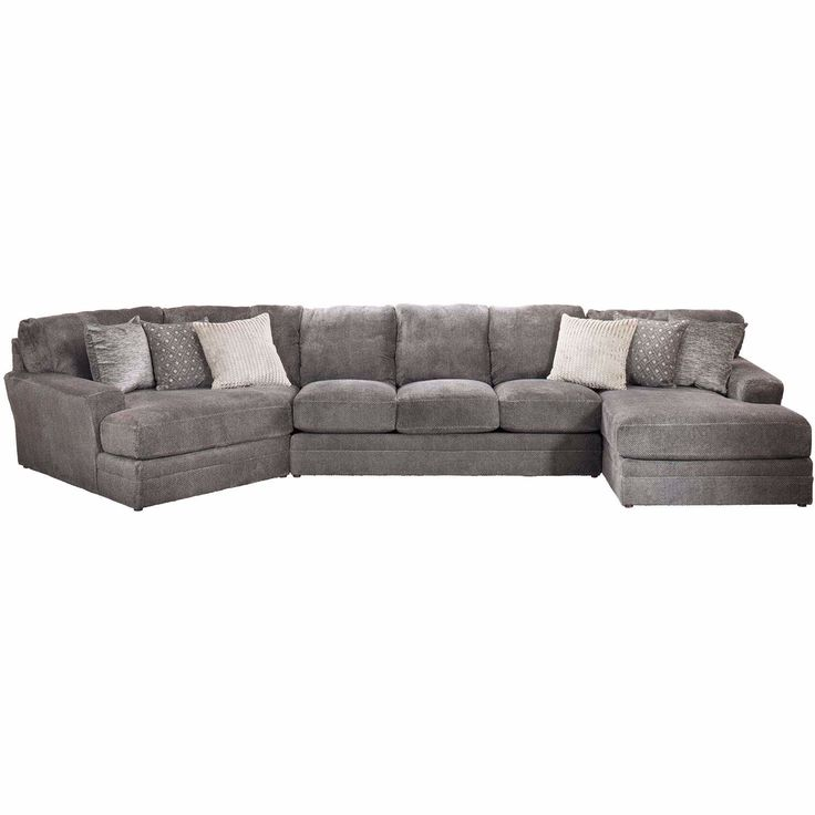 Mammoth 3 Piece Sectional With Laf Chaise And Raf Wedge