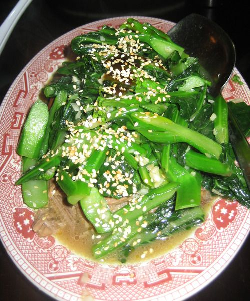 and really soaks up the juice and smoked oyster sauce really well ...