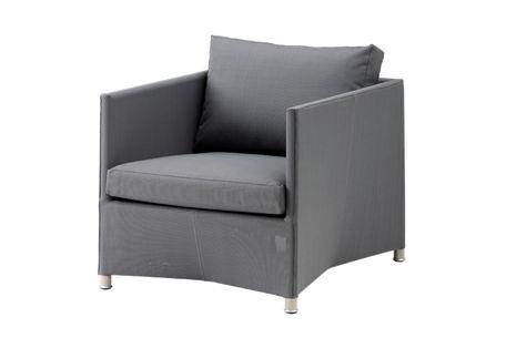 Diamond lounge chair incl. cushion set