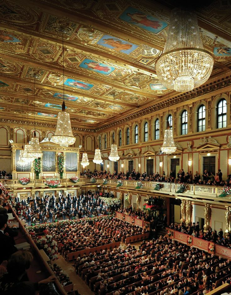 L'orchestre philharmonique de Vienne - Vienna New Year Concert.