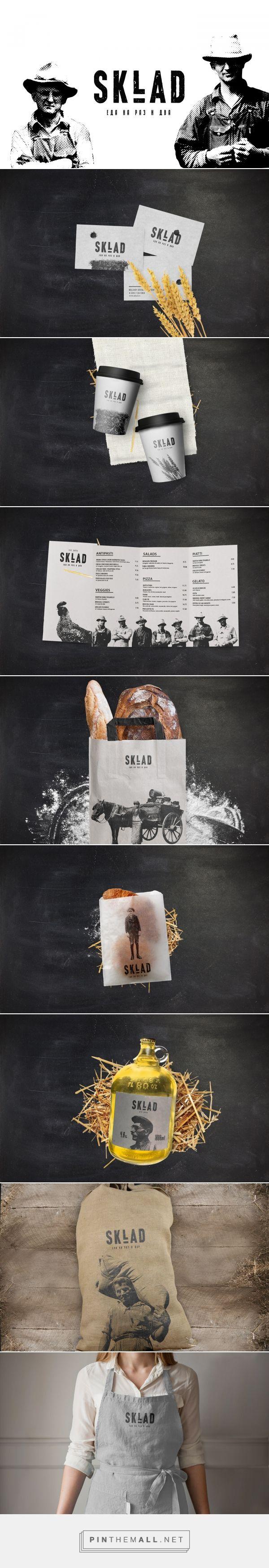 Sklad Restaurant Branding by Stepan Solodkov | Fivestar Branding Agency – Design and Branding Agency & Curated Inspiration Gallery