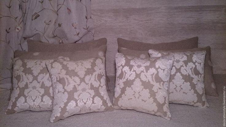 Купить Подушки декоративные. Подушки льняные. - подушки декоративные, Подушки, подушки на диван, подушки в подарок