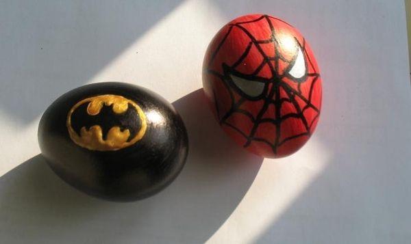 Superhero Eggs