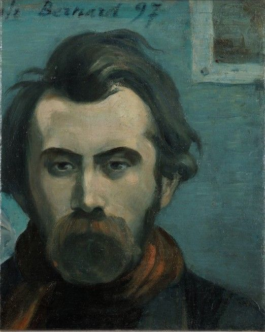 1897.Autoritratto.Bernard, Émile (1868-1941)Autoportrait ...