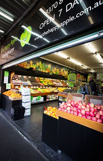 The store - Ascot Vale  | The Happy Apple