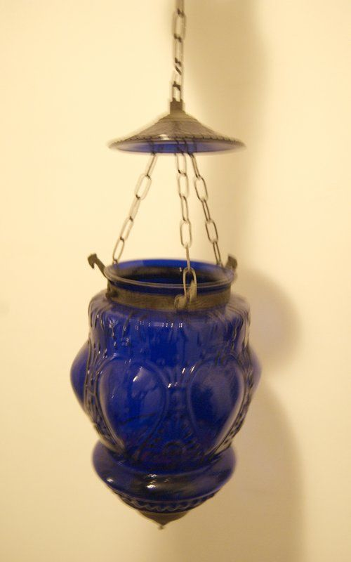 3 Antique Moroccan Glass Lanterns (ABC Home) in Lower Manhattan, Manhattan ~ Apartment Therapy Classifieds