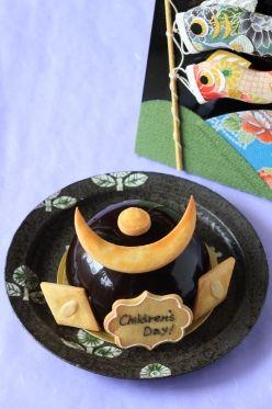 「こどもの日!兜ケーキ」kaiko | お菓子・パンのレシピや作り方【corecle*コレクル】
