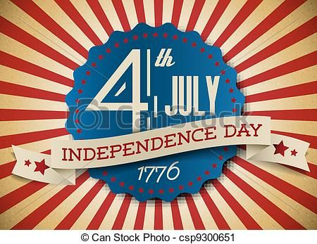 independence day clip art | ... clip art icon, stock clipart icons, logo, line art, EPS picture