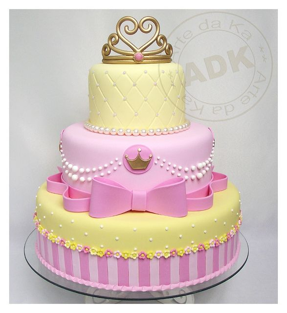 Fake cake - Princess