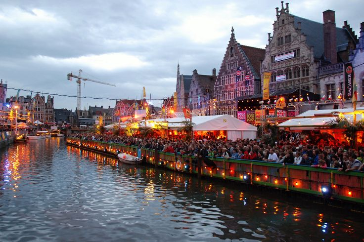 Gentse Feesten, a 10 day free open-air festival in the historic city center Ghent, Belgium#Repin By:Pinterest++ for iPad#