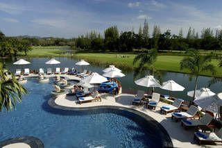 Swimming pool at Laguna Holiday Club Phuket Resort, Bangtao Beach