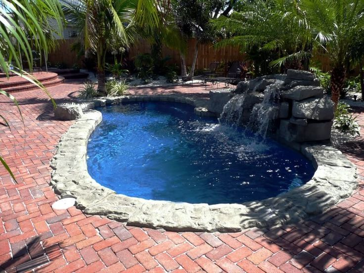 Image result for beach entry fiberglass pool price northern ca