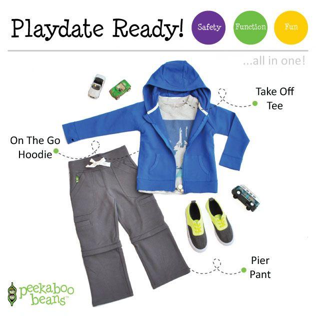 Peekaboo Beans - playwear for kids on the grow! | Contact your local Play Stylist or shop On-Vine at www.peekaboobeans.com | #PBPlayfulPairings