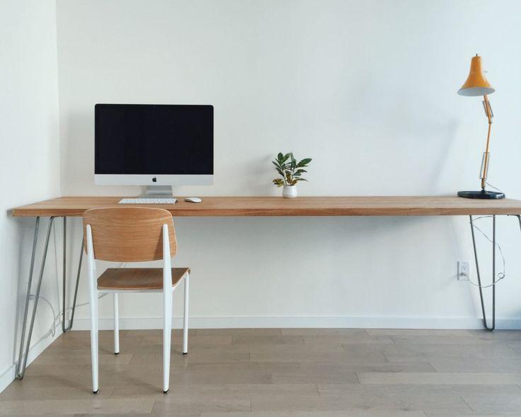 Customisez facilement vos meubles IKEA grâce à ces pieds et profitez de 5% de remise avec Bidouilles Ikea !  #bureau #commode #console #hairpinlegs #ikea #mange-debout #tablebasse