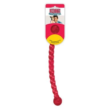 KONG SAFESTIX Dog Durable Rubber Stick Toy - A Safe Game of Fetch LARGE (PF1)