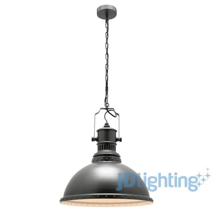 Mercator Industrial Style Pendant Light MP9131