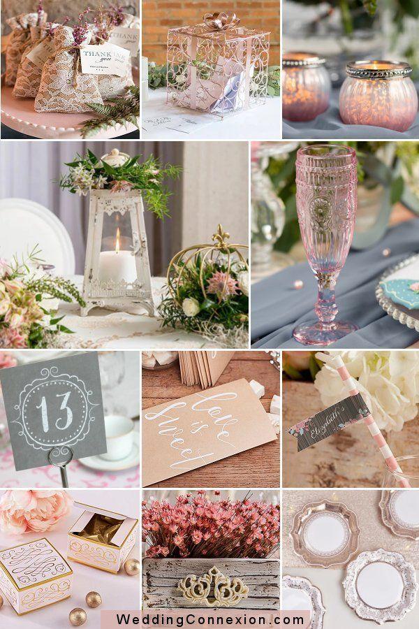 Vintage Romantic Pink Wedding Theme Elegant Wedding Ideas In 2020 Pink Wedding Theme Wedding Decor Elegant Vintage Wedding Theme