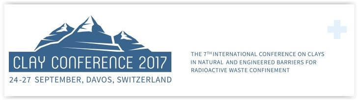 #geocongress CC17 -- 7th International Conference on Clays in Natural and Engineered Barriers for Radioactive Waste Confinement. Davos, Switzerland. 24 Sep 2017 - 27 Sep 2017. After Reims 2002, Tours 2005, Lille 2007, Nantes 2010 and Montpellier 2012 (all organised by ANDRA), and Brussels 2015 (organised by ONDRAF/NIRAS), we are pleased to inform you that the 7th International Conference on...