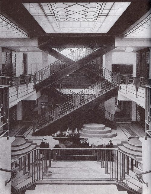 1930s architecture and furniture pinterest for Architecture 1930