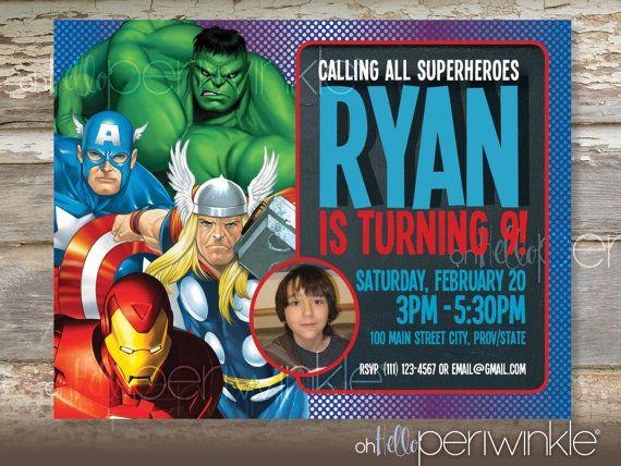 12 best Avengers Birthday Party images on Pinterest Avengers