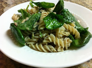 gluten free spicy spinach pasta! | la comida | Pinterest