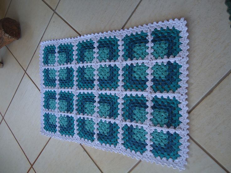 Tapete de Barbante | Crochet no Ponto | Elo7
