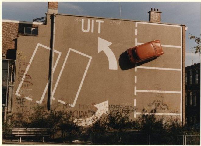 Van Miereveltstraat bij de De Heemstraat, kunstwerk van Theo van Laar