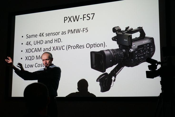 Seminario su Sony PXW-FS7