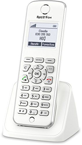 AVM FRITZ!Fon M2 DECT-Komforttelefon (für FRITZ Box Monochromes Display, HD-Telefonie) deutschsprachige Version #FRITZ!Fon #DECT #Komforttelefon #(für #FRITZ #Monochromes #Display, #Telefonie) #deutschsprachige #Version