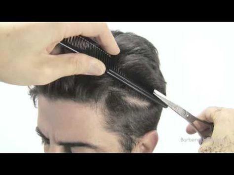 How to fade/cut a mans hair/classic mens haircut - YouTube