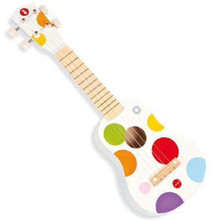 Guidecraft dress up storage white ukuleles
