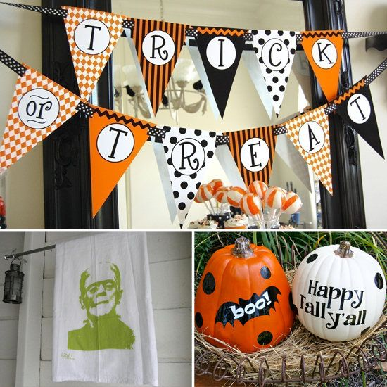 Cheap Halloween Decorating Ideas  Source:  http://www.savvysugar.com/Cheap-Halloween-Decorating-Ideas-25457558