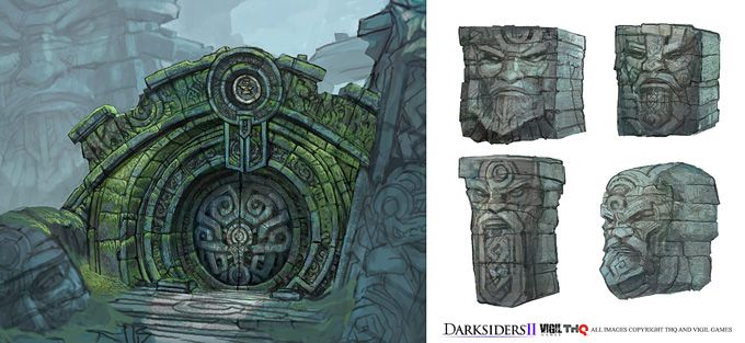 Concept Art World » Darksiders II Concept Art by Nick Southam