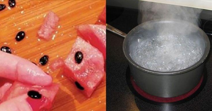 Tag vandmelonens kerner ud og kog dem – resultatet kommer til at overraske dig