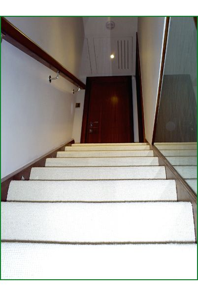 Rowland Way Glass Staircase