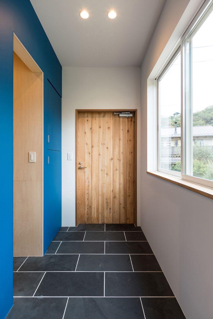 ENJOYWORKS/エンジョイワークス/スケルトンハウス/skeletonhouse/facade/door/ドア/flooring/フローリング/2017年グッドデザイン賞
