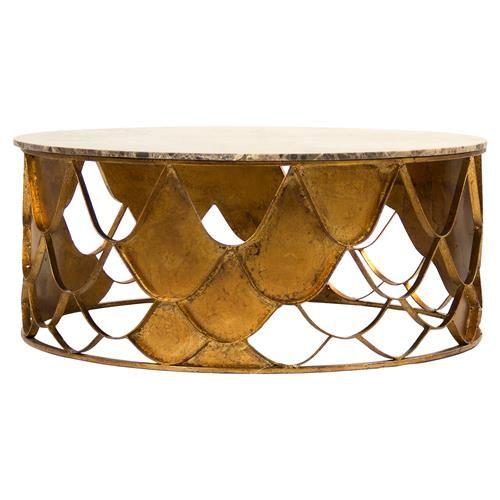 Auriel Global Bazaar Antique Gold Scale Round Coffee Table. Eclectic ... - 25+ Best Ideas About Eclectic Coffee Tables On Pinterest Cozy