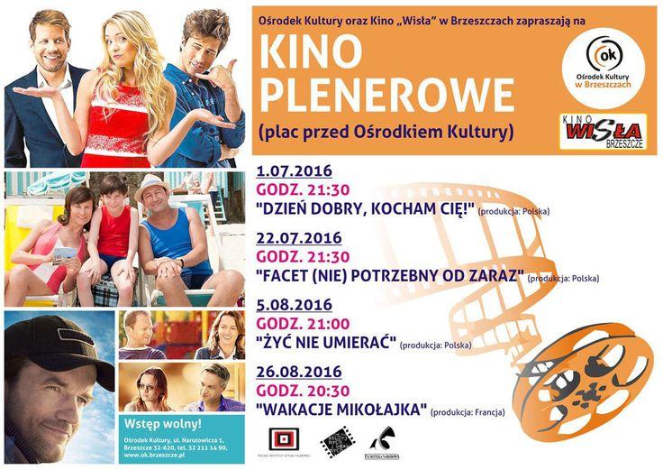 Kino plenerowe w Brzeszczach