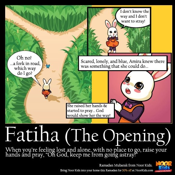 "Noor Kids muslim kid's comic book ""A light for little muslims"""