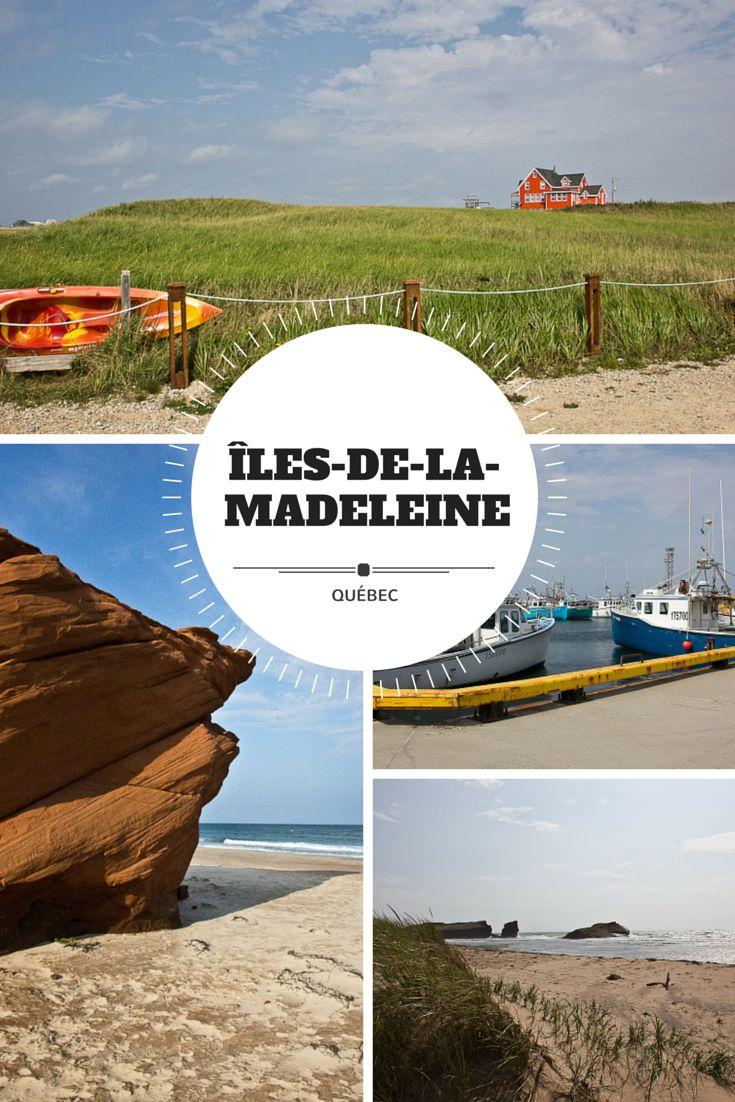 Aux Îles-de-la-Madeleine au Québec, l'impression d'être seul au monde est omniprésente. Mais elles nous réservent aussi de belles rencontres avec leurs habitants, comme j'ai pu en faire l'expérience!