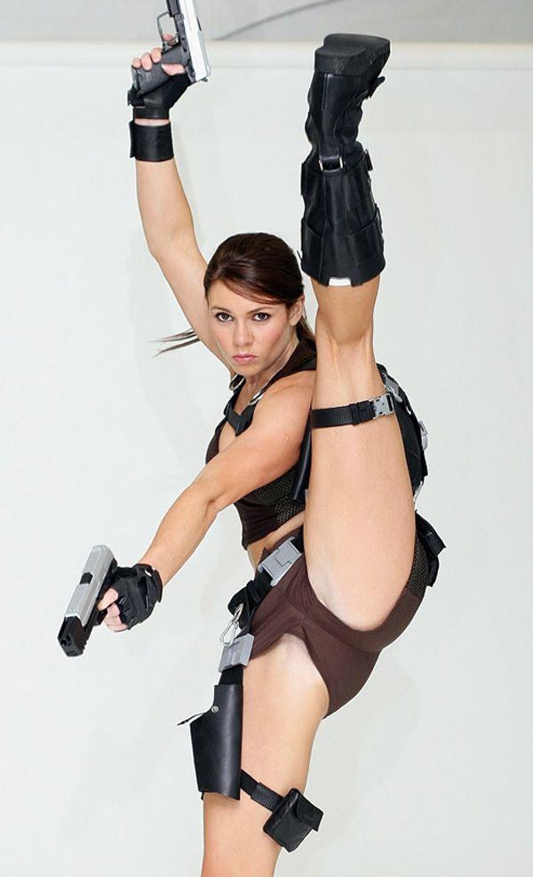 Lara Croft Girl Cosplay Costume