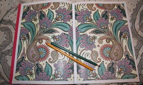 Adult colouring-in books: the latest weapon against stress and anxiety | Books | The Guardian